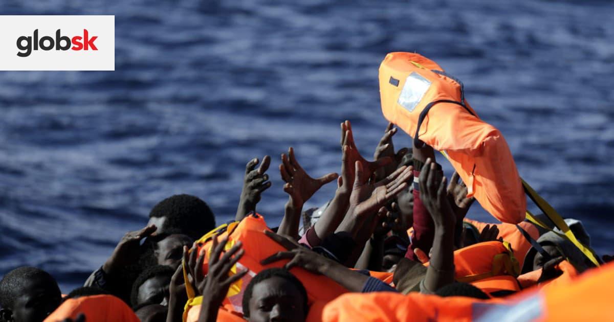 OSN varovala, že takmer 100 migrantom hrozí utopenie v Stredozemnom mori | Glob.sk