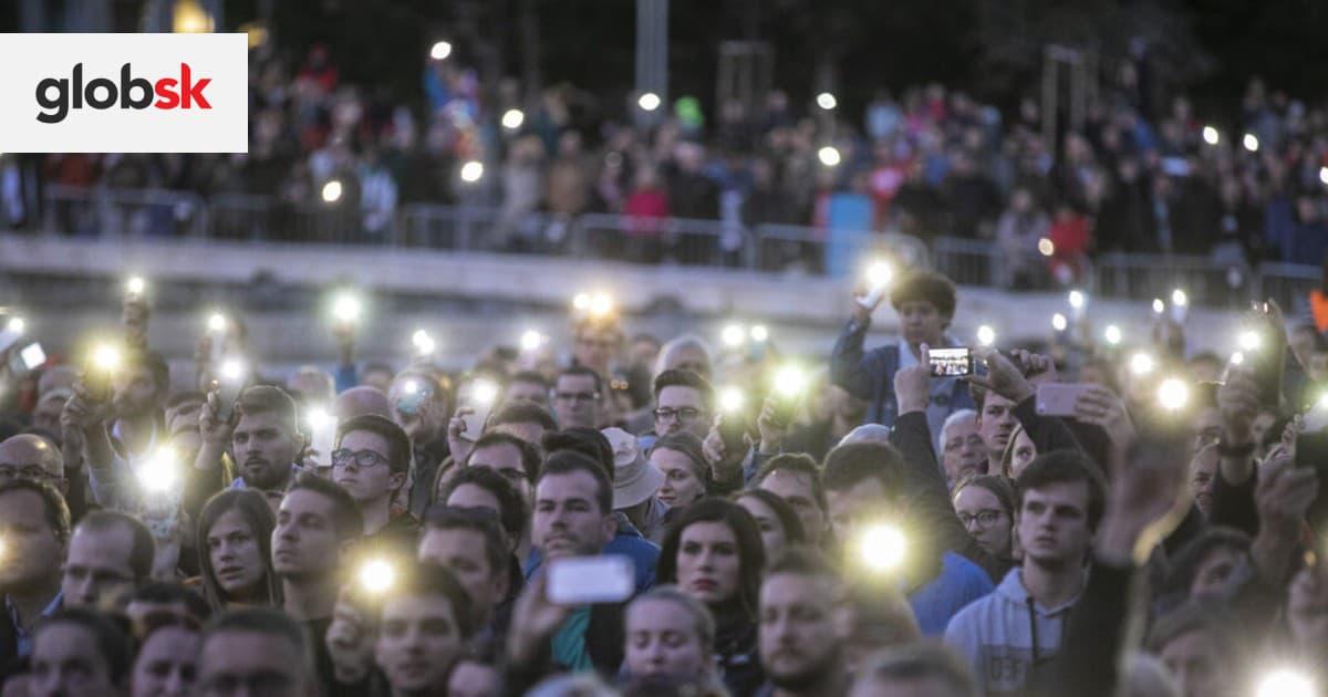 Protesty Za slušné Slovensko pokračujú. Dôvodom je kauza Gorila | Glob.sk