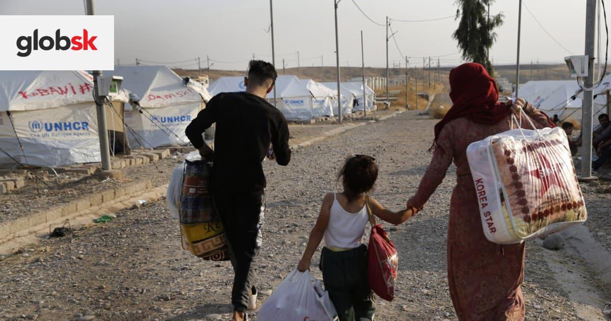 Francúzska polícia zlikvidovala tábor, v ktorom sa nachádzalo 1500 migrantov | Glob.sk