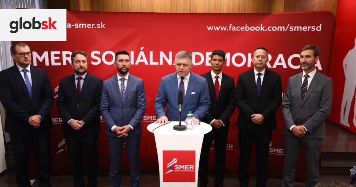 Smer-SD má nové vedenie. Po Ficovom boku je Blaha aj mladý Kaliňák | Glob.sk