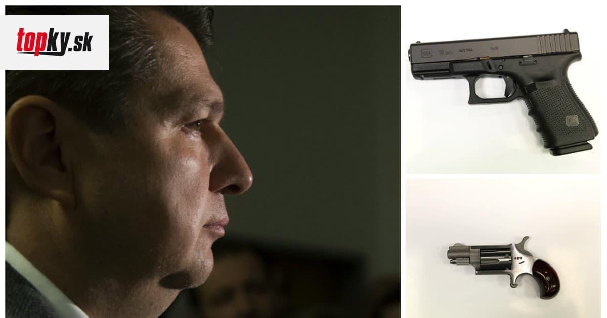 Bašternákova guľovnica alebo minirevolver! Zabavené zbrane po daňovom podvodníkovi sú na predaj | Topky.sk