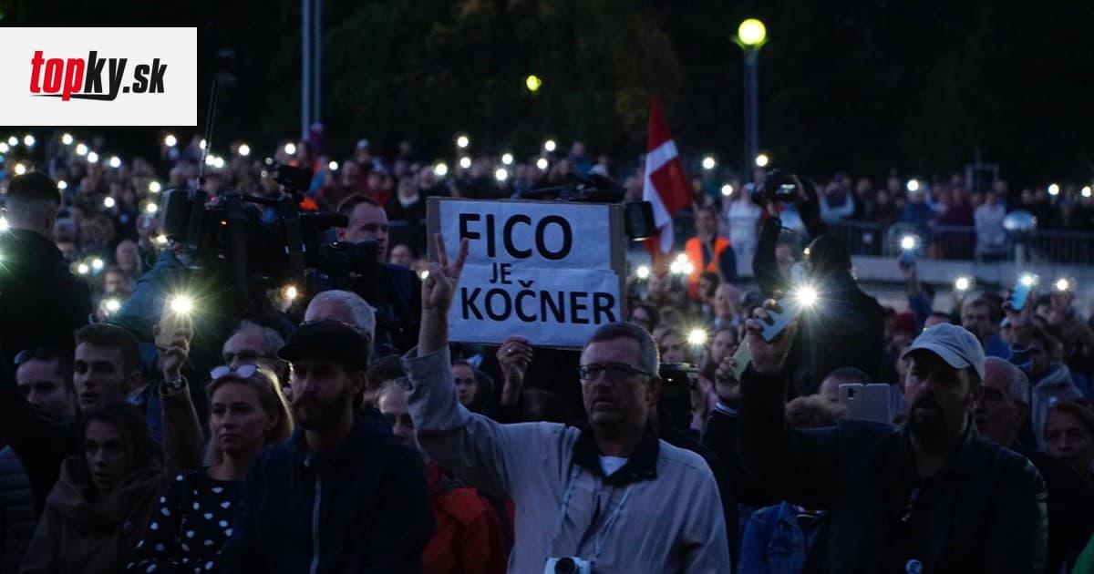 Protesty Za slušné Slovensko pokračujú po celom svete, dôvodom je kauza Gorila   Topky.sk