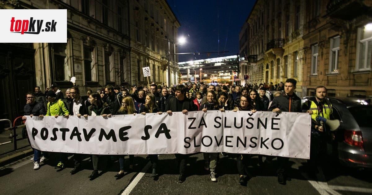 Kauza Gorila zmobilizovala tisícky Slovákov: Protestné pochody žiadajú odstúpenie jej aktérov | Topky.sk