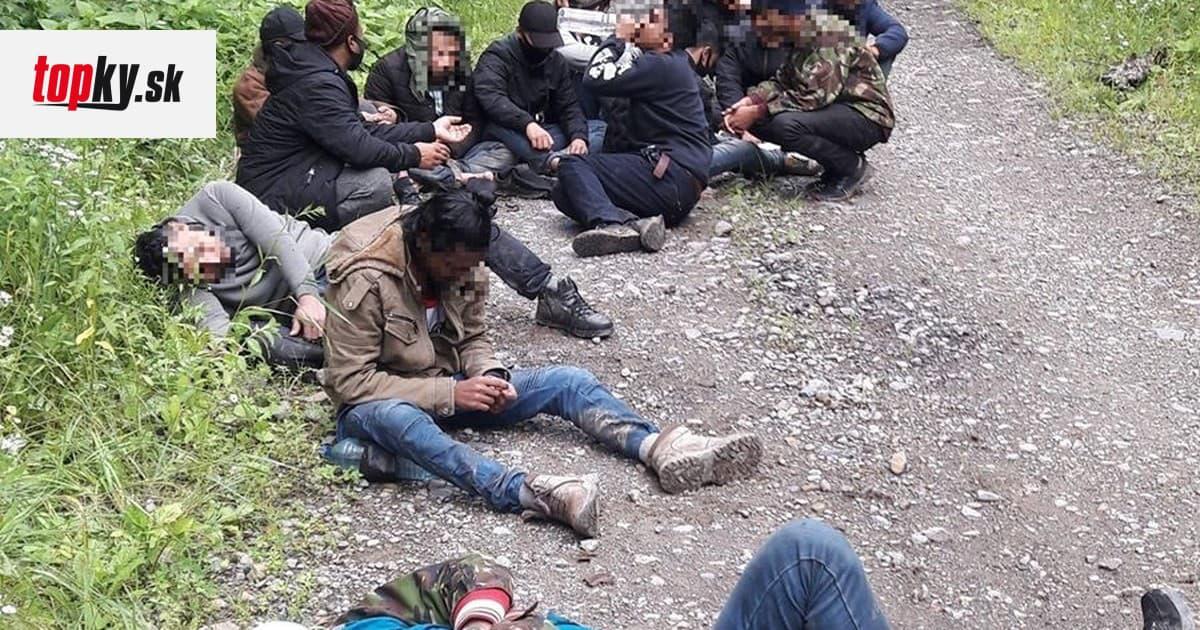 Polícia zadržala 16 migrantov pri hranici s Ukrajinou: Našla ich v lesnom poraste | Topky.sk