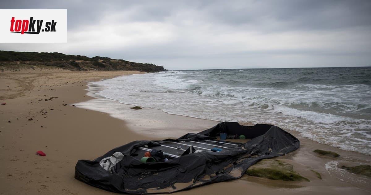 Migranti na člne sa prevrátili pri pobreží Francúzska: Traja z nich sú nezvestní   Topky.sk