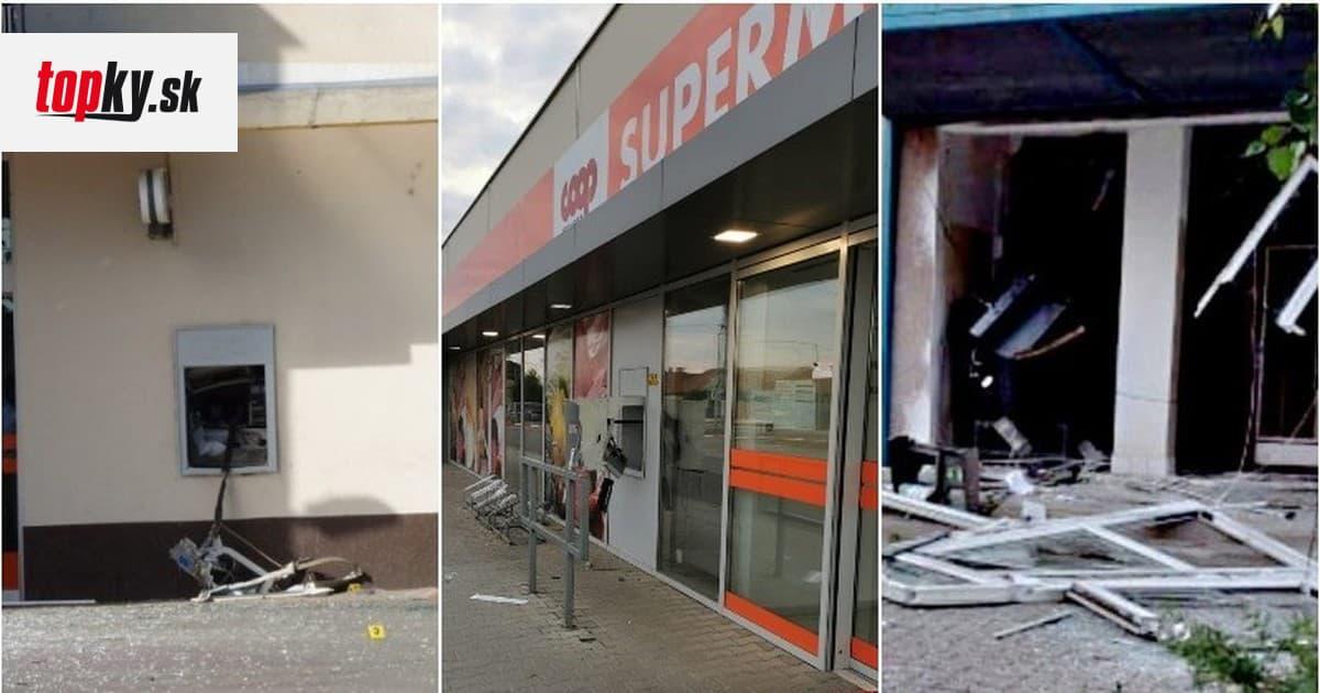 BOMBOVÁ NOC Na Slovensku vybuchovali bankomaty: FOTO obrovská spúšť! Polícia má plné ruky práce   Topky.sk