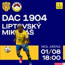 FC DAC 1904 Dunajská Streda - MFK Tatran Liptovský Mikuláš