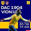 FC DAC 1904 Dunajská Streda  - FC ViOn Zlaté Moravce