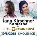 Koncert Jany Kirschner a Simy Martausovej