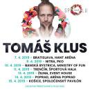 TOMÁŠ KLUS 2019 TOUR SPOLU