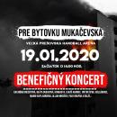 Pre bytovku Mukačevská Benefičný koncert