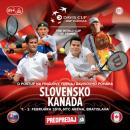 Davis Cup Slovensko – Kanada